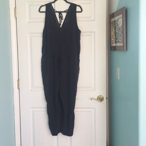 Anthropologie cloth and stone juliana jumpsuit PL